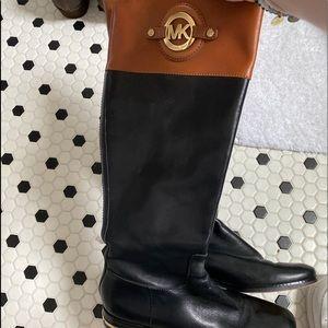 micheal kors riding boots